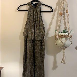 Maggy London gold dress